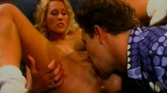 Naughty lifeguard bends over and gets reamed hard on the table