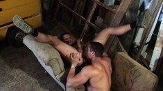 Ben and Fernando savor the sweet taste of each other's fiery asses