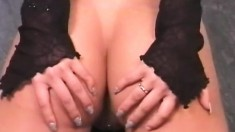 Sensual cock-tease Naomi can't wait to show off her tight bottom
