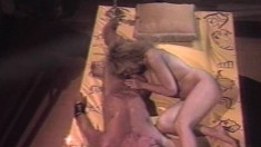 Victoria Paris & Peter North in a classic fuck scene banging away
