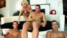 Dazzling Nora Is An Expert In The Arts Of Sucking And Stroking Cocks