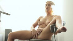 Desirable Teen Beauty With Perky Boobs And A Perfect Ass Masturbates