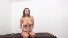 Buxom Candy Alexa wants nothing but a hard dick filling her wet peach