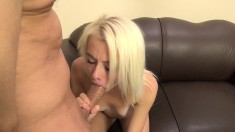 Petite babe Maddy Rose loves to have a big cock buried inside her cunt