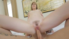 Naughty Blonde Teen Buries Her Stepbrother's Hard Pole Inside Her Twat
