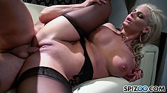 Phoenix wants it all, she lays back and lets him use her pussy
