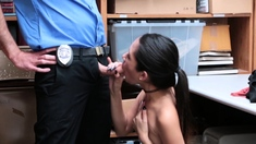 Asian Teen Offered Pussy To Avoid Jail