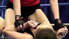 Ashley and Alexa Wild are two sexy babes fighting to find pleasure in the ring