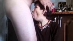 Ugly Russian Whore, Fuck And Facial