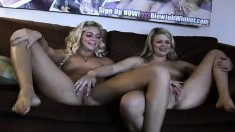 These gals hang around a porn set to get the actors hard or keep them hard