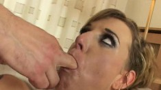 Myra loves to have her tight butt worked by a naughty womanizer