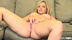 Alexis Texas Sucks On Her Toy While Exposing Her Pussy On Camera