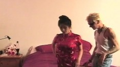 Naughty Asian Chicks With Great Oral Skills Engage In Rough Anal Sex