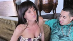 Horny Rich Girl With Wonderful Tits And Ass Is A Sucker For Hard Meat