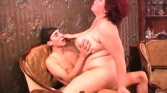 Big Boobs Mature Stepmom Horny Threeway