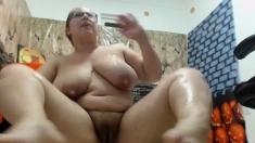 Chubby girl webcam