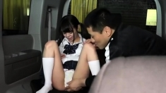 Japanese Teen In Uniform Fucked