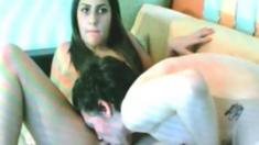 Couple On Cam, No Sound :(