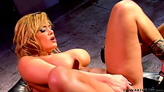 Bridget and Shyla surrender their pussies to one another and enjoy intense pleasure