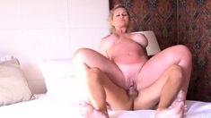 Busty xmilf with a fabulous ass is a sucker for cock v1